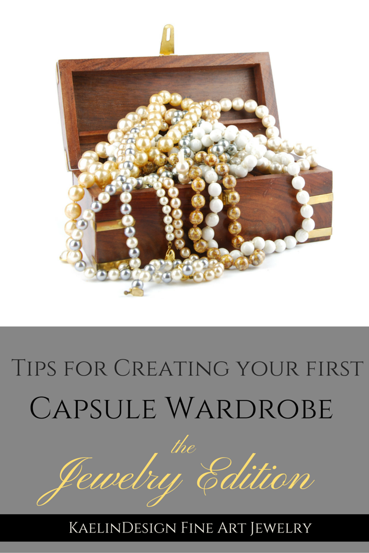The first steps to creating your timeless Capsule Jewelry Wardrobe.
